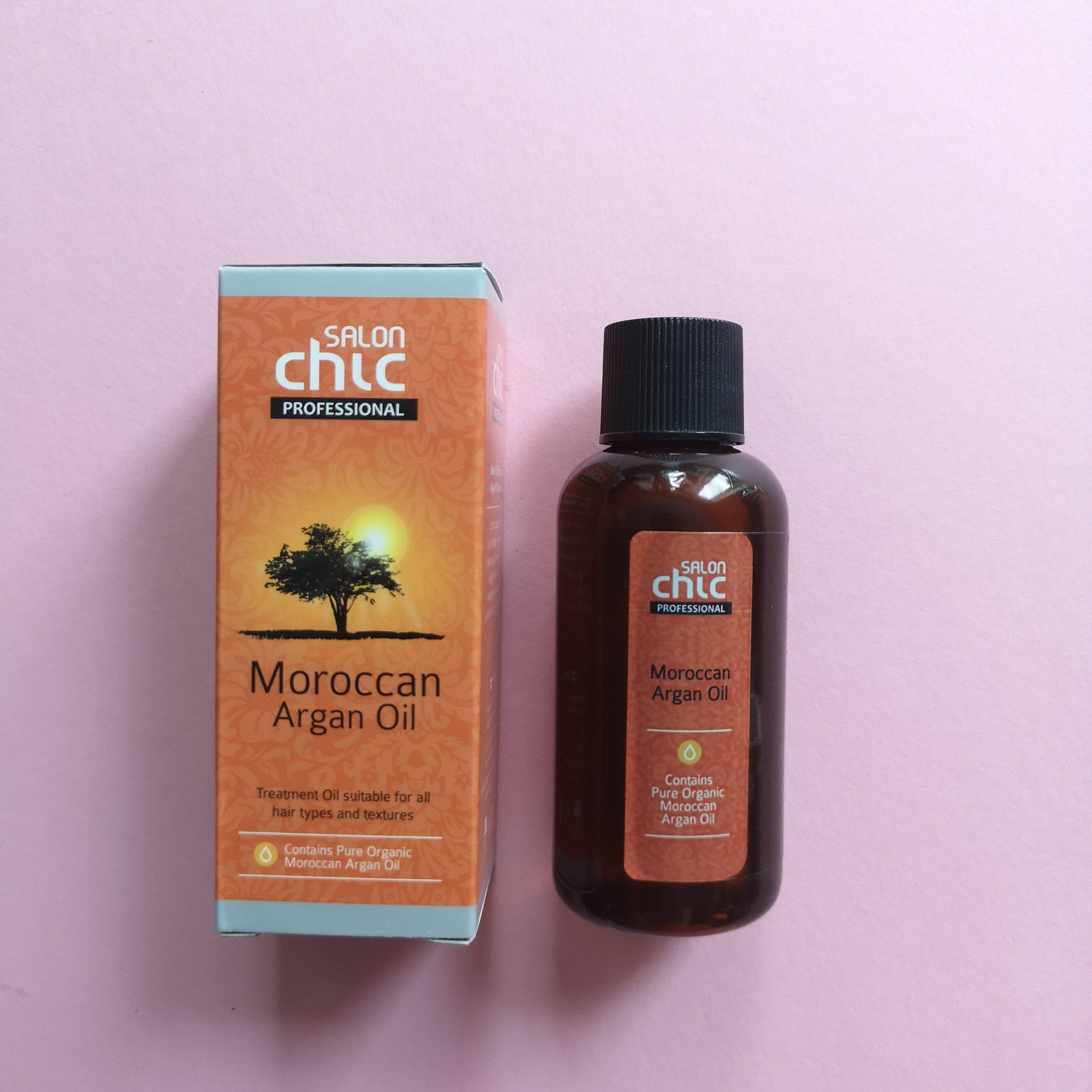 sundt hår med Moroccan Argain oil