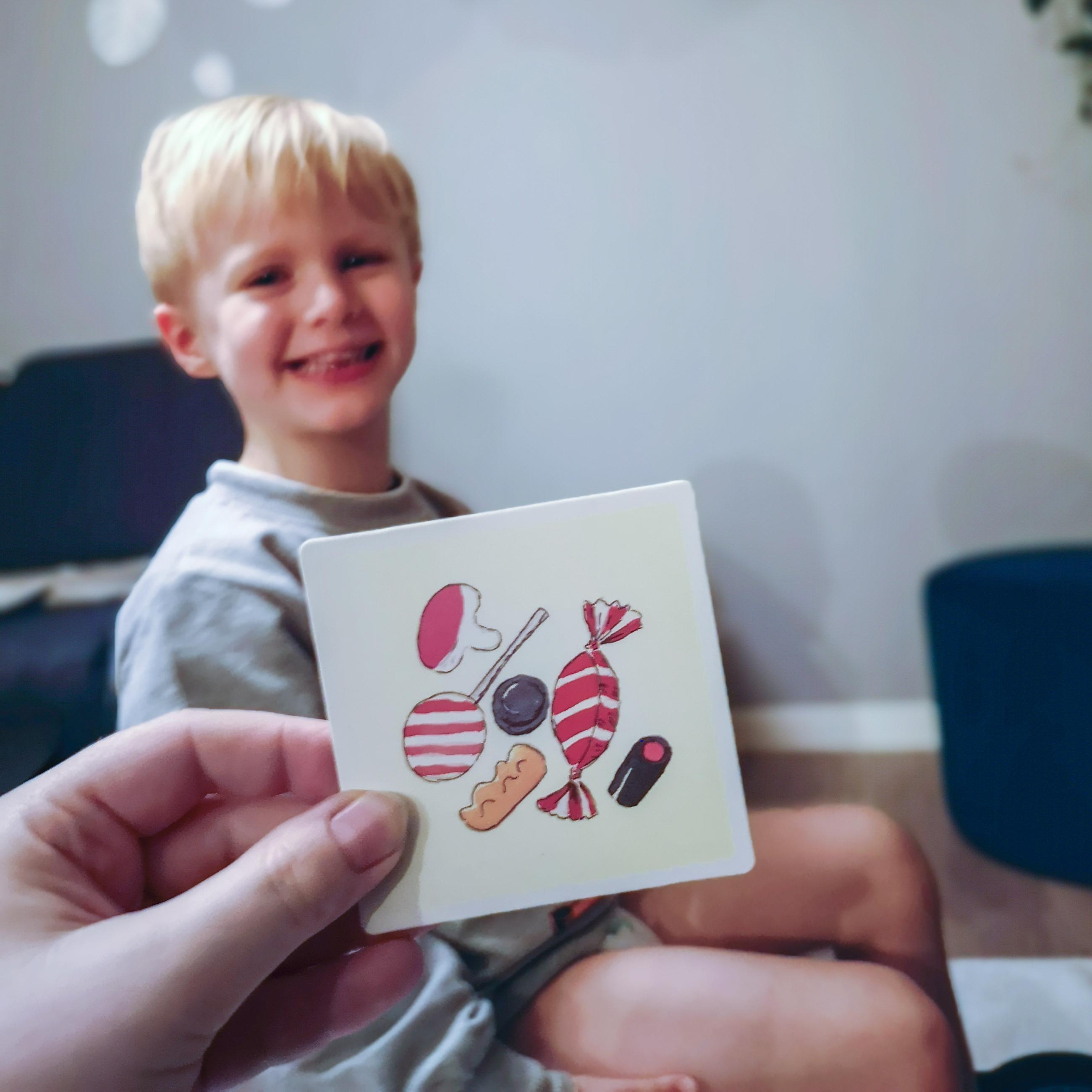 færre konflikter med dit barn med piktogrammer